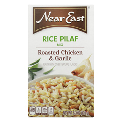 HGR0114868 - Near East - Rice Pilaf Mix - Chicken and Garlic - Case of 12 - 6.3 oz.