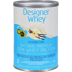 HGR0115188 - Designer WheyProtein Powder French Vanilla - 12 oz
