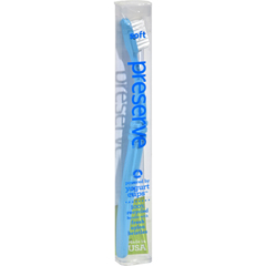 HGR0115279 - Preserve - Soft Toothbrush - 6 Pack - Assorted Colors
