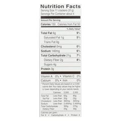 HGR01154434 - Glutino - Sea Salt Crackers - Case of 6 - 4.25 oz.