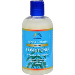 HGR0115543 - Rainbow ResearchHerbal Conditioner Henna and Biotin - 8 fl oz