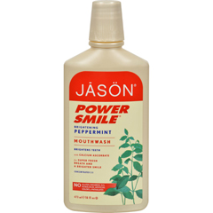 HGR0115584 - Jason Natural ProductsPowerSmile Mouthwash Peppermint - 16 fl oz
