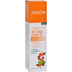 HGR0115667 - Jason Natural ProductsNutrismile Toothpaste Orange Cinnamon Mint - 4.2 oz