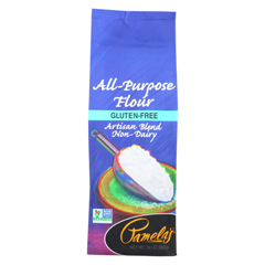 HGR01164516 - Pamela's ProductsAll-Purpose Flour Artisan Blend - Flour - Case of 6 - 24 oz.