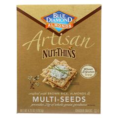 HGR01182971 - Blue DiamondArtesion Nut Thins - Multi Seed - Case of 12 - 4.25 oz.