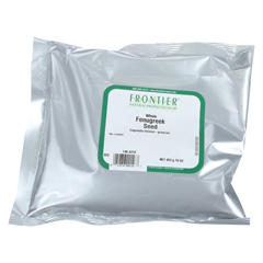 HGR0118703 - Frontier Herb - Fenugreek Seed - Whole - Bulk - 1 lb