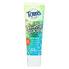 HGR01187608 - Tom's Of MaineToothpaste - Wicked Cool - Flouride - Kids - Mild Mint - 4.2 oz. - Case of 6