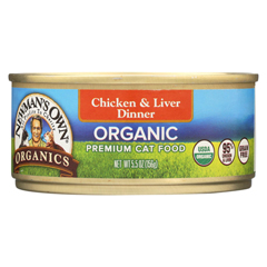 HGR01194141 - Newman's Own OrganicsCat Food - Chicken and Liver - Case of 24 - 5.5 oz.