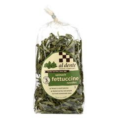 HGR0119974 - Al Dente - Fettuccine - Spinach - Case of 6 - 12 oz.