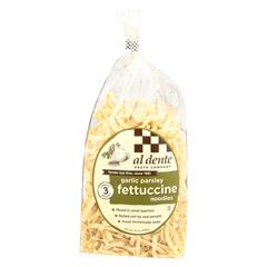 HGR0120055 - Al Dente - Fettuccine - Garlic Parsley - Case of 6 - 12 oz.