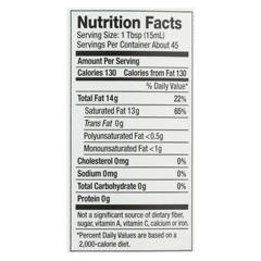 HGR01204197 - NutivaOrganic Virgin Coconut Oil - Case of 6 - 23 oz.
