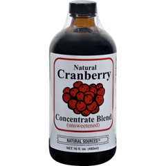HGR0121988 - Natural SourcesCranberry Concentrate Drink - 16 fl oz