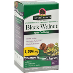 HGR0123034 - Nature's AnswerBlack Walnut Complex - 90 Vegetarian Capsules