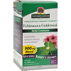 HGR0123315 - Nature's AnswerEchinacea With Goldenseal - 90 Vcaps
