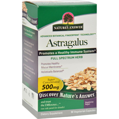 HGR0123513 - Nature's Answer - Astragalus Root - 90 Vegetarian Capsules