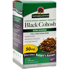 HGR0123539 - Nature's AnswerBlack Cohosh Root - 90 caps