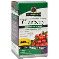 HGR0123679 - Nature's AnswerCranberry Fruit - 90 Vegetarian Capsules