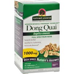 HGR0123729 - Nature's AnswerDong Quai Root Extract - 90 Vegetarian Capsules