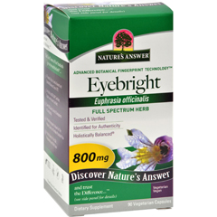 HGR0123810 - Nature's Answer - Eyebright Herb - 90 Vegetarian Capsules