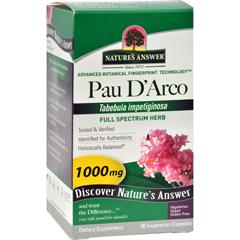 HGR0124081 - Nature's AnswerPau darco Inner Bark - 90 Capsules