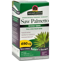 HGR0124156 - Nature's AnswerSaw Palmetto Berry Extract - 120 vcaps