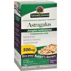 HGR0124230 - Nature's AnswerAstragalus Root Extract - 60 Vegetarian Capsules