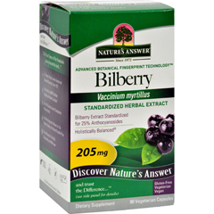 HGR0124255 - Nature's AnswerBilberry Extract - 90 Vegetarian Capsules