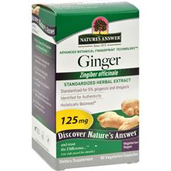HGR0124354 - Nature's AnswerGinger Rhizome - 60 Vegetarian Capsules