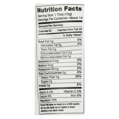 HGR01243666 - Nutiva - Organic Seeds - Chia - Case of 12 - 6 oz.