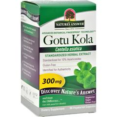 HGR0124396 - Nature's AnswerGotu Kola Herb - 60 Vegetarian Capsules