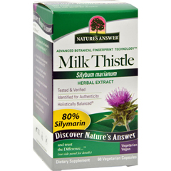 HGR0124560 - Nature's AnswerMilk Thistle Seed Extract - 60 Vegetarian Capsules