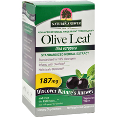 HGR0124578 - Nature's AnswerOleoPein Olive Leaf Extract - 60 Vegetarian Capsules