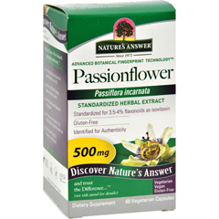 HGR0124594 - Nature's AnswerPassionflower Extract - 60 Vegetarian Capsules