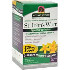 HGR0124735 - Nature's AnswerSuper St Johns Wort Herb Extract - 60 Vegetarian Capsules