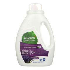 HGR0127076 - Seventh Generation - Natural Laundry Detergent - Blue Eucalyptus and Lavender - Case of 6 - 50 Fl oz..