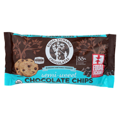 HGR01274109 - Equal ExchangeOrganic Chocolate Chips - Semi-Sweet - Case of 12 - 10 oz.