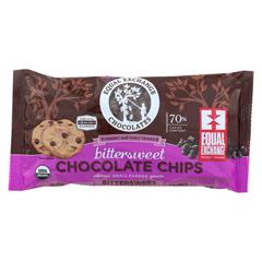 HGR01274117 - Equal ExchangeOrganic Bittersweet Chocolate Chips - Bittersweet Chocolate Chips - Case of 12 - 10 oz.