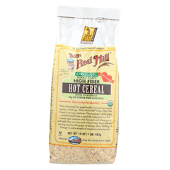 HGR01283522 - Bob's Red MillOrganic Whole Grain High Fiber Hot Cereal - 16 oz. - Case of 4