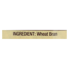 HGR01283530 - Bob's Red MillWheat Bran - 8 oz. - Case of 4