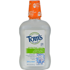 HGR0129031 - Tom's of MaineChildrens Anticavity Fluoride Rinse Juicy Mint - 16 fl oz