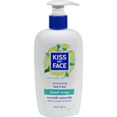 HGR0129312 - Kiss My FaceMoisture Soap Tea Tree - 9 fl oz