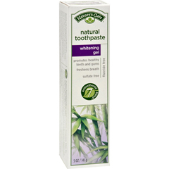HGR0129478 - Nature's GateNatural Toothpaste Gel Whitening - 5 oz - Case of 6