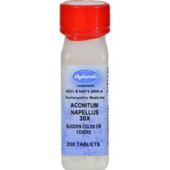 HGR0129486 - Hyland'sAconitum Napellus 30x - 250 Tablets