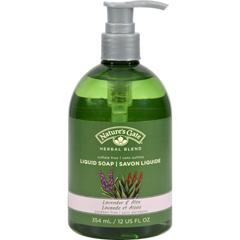 HGR0129734 - Nature's GateOrganics Liquid Soap Lavender and Aloe - 12 fl oz