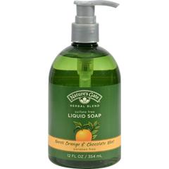 HGR0129759 - Nature's GateOrganics Liquid Soap Neroli Orange and Chocolate Mint - 12 fl oz
