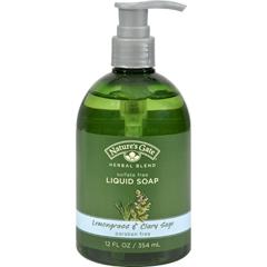 HGR0129775 - Nature's GateOrganics Liquid Soap Lemongrass and Clary Sage - 12 fl oz