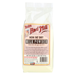 HGR01310333 - Bob's Red MillInstant Powdered Milk - Case of 4 - 22 oz.