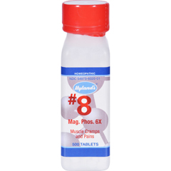 HGR0131367 - Hyland'sHylands Homeopathic Number 8 Magnesia Phosphorica 6X - 500 Tablets