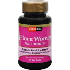 HGR0133637 - Sedona LabsiFlora Probiotics for Women - 60 Vegetarian Capsules