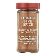 HGR0134346 - Morton and Bassett - Seasoning - Chinese Five Spice - 2.3 oz.. - Case of 3
